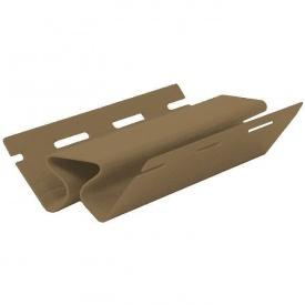 Планка внутренний угол FaSiding Грецкий орех Т-13 3050 мм