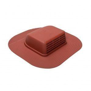 Покрівельний вентиль VILPE HUOPA-KTV/HARJA 429х439 мм червоний