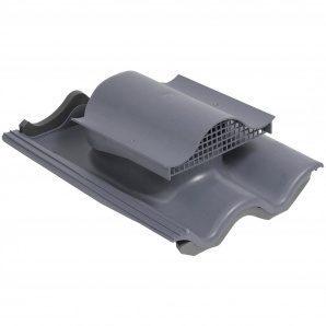 Покрівельний вентиль VILPE TIILI-KTV з адаптером 440х330 мм сірий