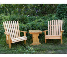 Мебель из массива дерева для дачи 750х510 мм
