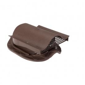 Кровельный вентиль VILPE MUOTOKATE-KTV 330х260 мм коричневый