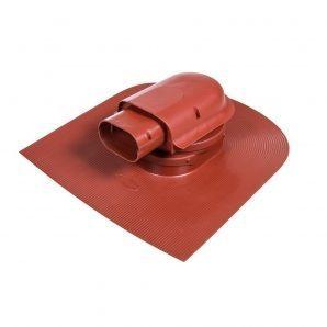 Прохідний елемент VILPE SOLAR HUOPA 583х488 мм червоний