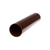 Труба водостічна Profil 100 мм 4 м коричнева