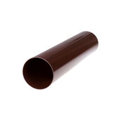 Труба водосточная Profil 100 мм 3 м коричневая