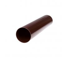 Труба водосточная Profil 100 мм 4 м коричневая