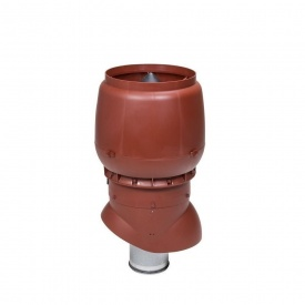 Вентиляционный выход VILPE XL-200/ИЗ/500 200х500 мм красный