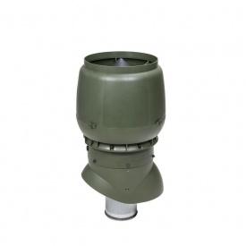 Вентиляционный выход VILPE XL-160/ИЗ/500 160х500 мм зеленый
