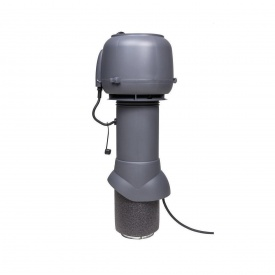 Вентилятор VILPE E120 P 125х500 мм серый