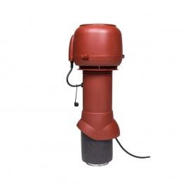 Вентилятор VILPE E120 P 125х500 мм красный