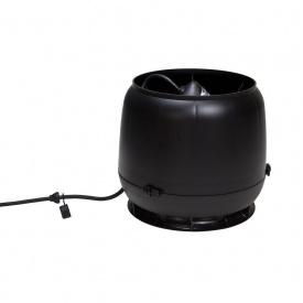 Вентилятор VILPE E190 S 125 мм черный