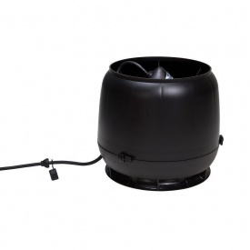 Вентилятор VILPE E190 S 125 мм чорний