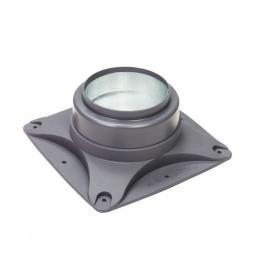 Основание вентилятора VILPE E120 S 250х250 мм серое