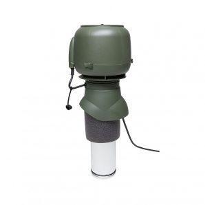 Вентилятор VILPE E120 P 125х400 мм зелений