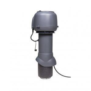Вентилятор VILPE E120 P 125х500 мм сірий