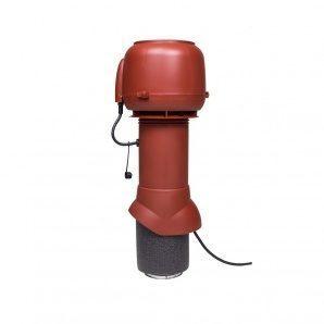 Вентилятор VILPE E120 P 125х500 мм червоний