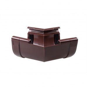 Кут внутрішній Profil W 150° 130 мм коричневий
