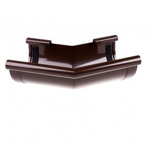 Кут зовнішній Profil Z 168° 130 мм коричневий