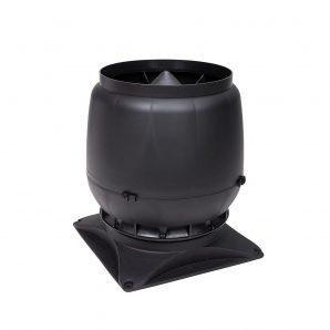 Вентиляційний вихід VILPE S-200 200 мм чорний