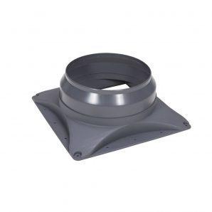 Основание вентилятора VILPE Е250 S/Е310 S 400х400 мм серое