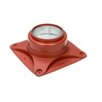 Підстава вентилятора VILPE E120 S 250х250 мм червона