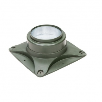 Підстава вентилятора VILPE E120 S 250х250 мм зелена