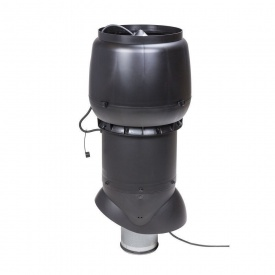 Вентилятор VILPE XL E220 P 160х700 мм чорний