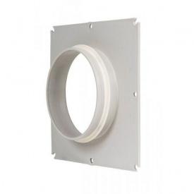 Фланець вентиляційної решітки VILPE 125 мм світло-сірий