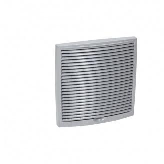 Наружная вентиляционная решетка VILPE 240х240 мм светло-серая