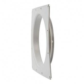 Фланец вентиляционной решетки VILPE 315 мм светло-серый