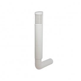 Цокольный дефлектор VILPE ROSS 200 мм белый