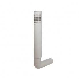 Цокольный дефлектор VILPE ROSS 200 мм светло-серый