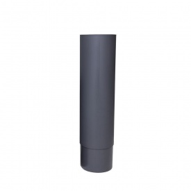 Удлинитель дефлектора VILPE ROSS 125 мм серый