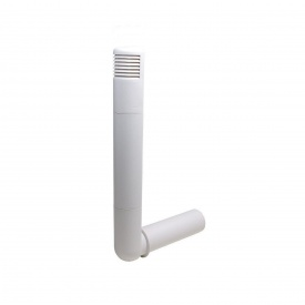 Цокольний дефлектор VILPE ROSS 125 мм білий