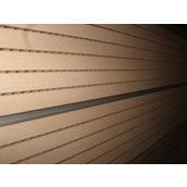 Перфорированная шпонированная панель из MDF Decor Acoustic 2400*576*17 мм клен