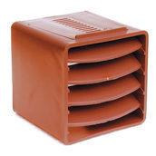 Вентиляционный куб VILPE 85х85х85 мм кирпичный