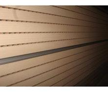 Перфорована шпонована панель з MDF Decor Acoustic 2400*576*17 мм клен