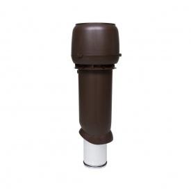 Вентиляційний вихід VILPE 160/ІЗ/700 160х700 мм коричневий