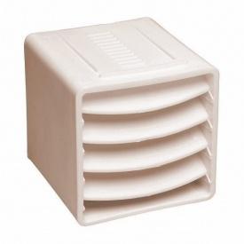 Вентиляційний куб VILPE 85х85х85 мм бежевий