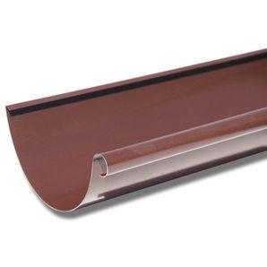 Жолоб Акведук Преміум 125 мм 4 м коричневий RAL 8017