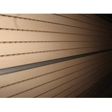Перфорована шпонована панель з MDF Decor Acoustic 14/2 2400*576*17 мм бук