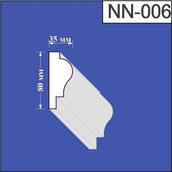 Наличник из пенополистирола Валькирия 35х80 мм (NN 006)