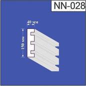 Наличник з пінополістиролу Валькірія 40х150 мм (NN 028)