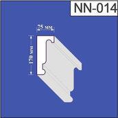 Наличник з пінополістиролу Валькірія 75х170 мм (NN 014)