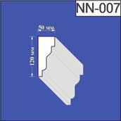 Наличник з пінополістиролу Валькірія 50х120 мм (NN 007)