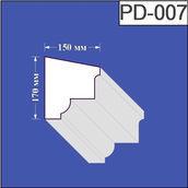 Підвіконня з пінополістиролу Валькірія 150х170 мм (PD 007)