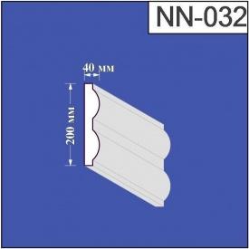 Наличник из пенополистирола Валькирия 40х200 мм (NN 032)