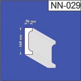 Наличник из пенополистирола Валькирия 50х160 мм (NN 029)