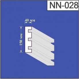Наличник из пенополистирола Валькирия 40х150 мм (NN 028)