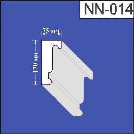 Наличник из пенополистирола Валькирия 75х170 мм (NN 014)