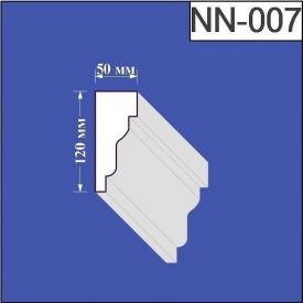 Наличник из пенополистирола Валькирия 50х120 мм (NN 007)